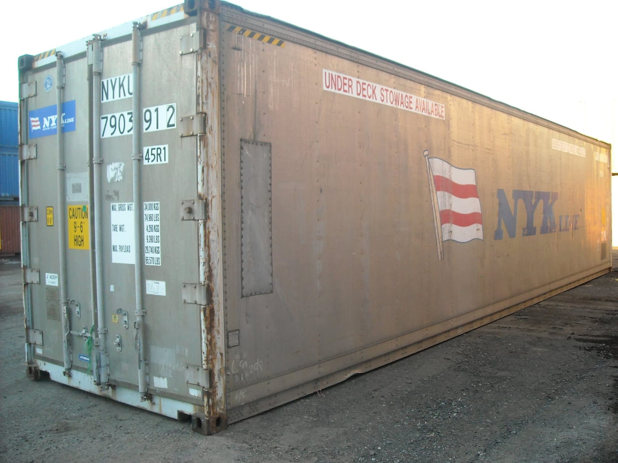 TRS sells and rents 20ft and 40ft refrigeration containers