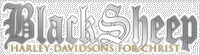 Black Sheep Harley-Davidsons For Christ Logo