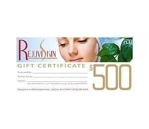 Rejuviskin Gift Certificates