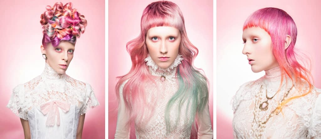 Vintage-Edgy-Pink-Hairstyles