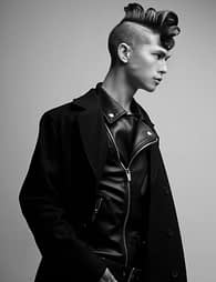 Part of Nicole's NAHA collection in which she won for Men's Hairstylist of the Year 2016