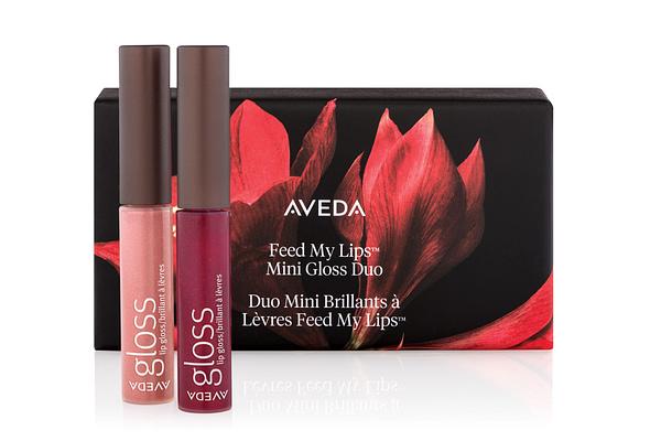 2 Aveda lipglosses in shades of pink