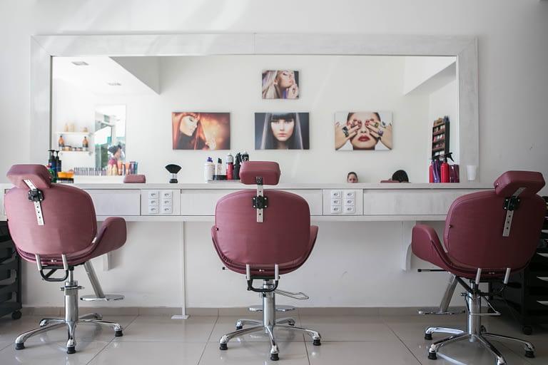 Clean and modern salon