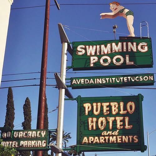 Aveda Institute Tucson sign