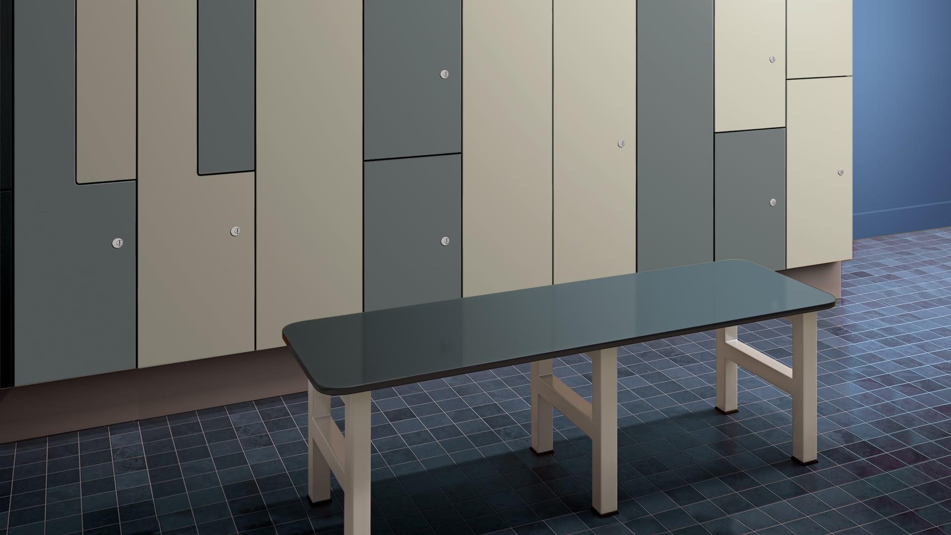 ASI Lockers + Benches