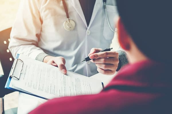 Doctor Discussing Treatment Options with Patient
