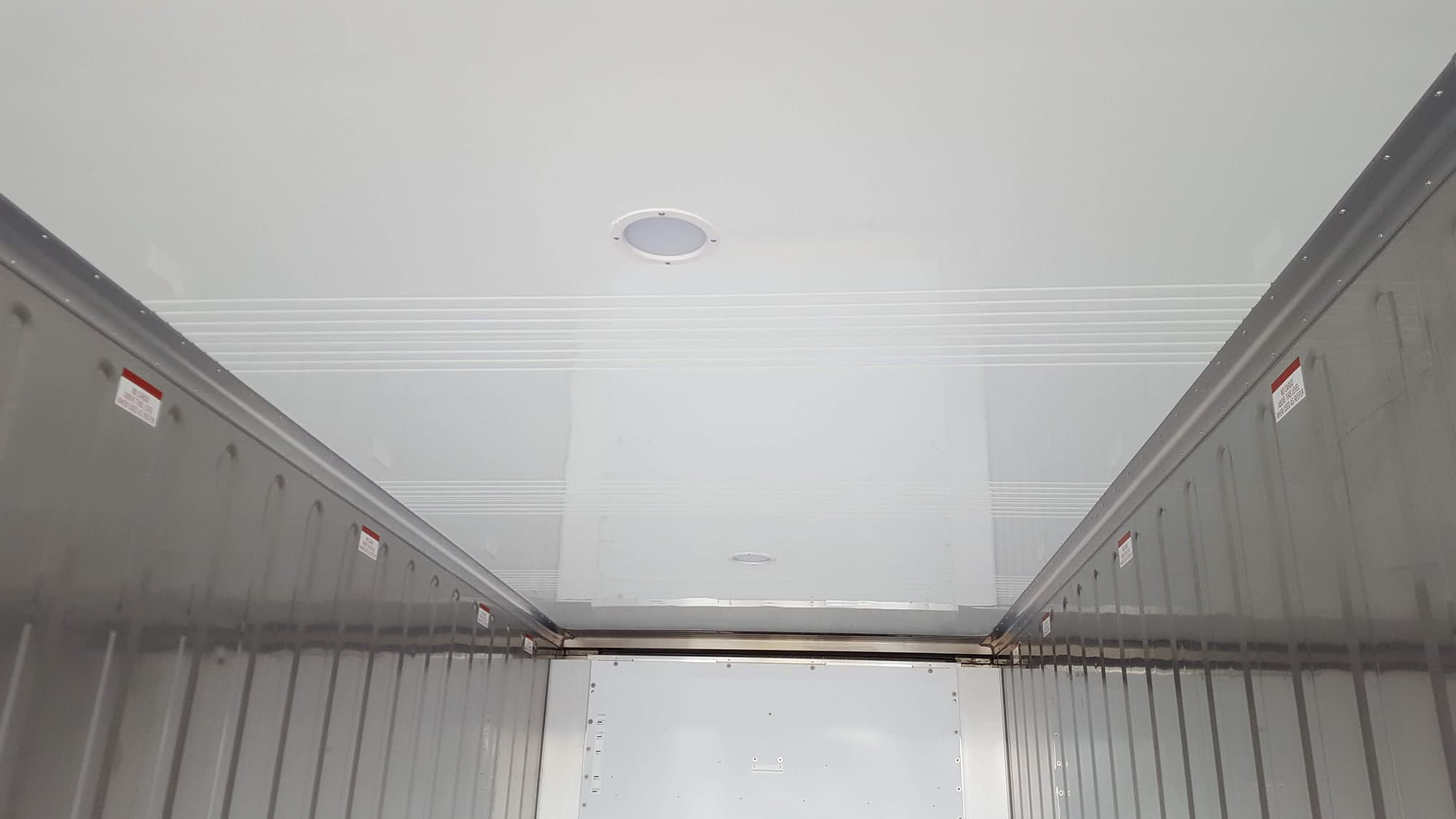 New TRS refrigeration containers have interior lights
