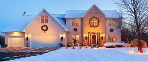 Snowy home– New Jersey Siding & Windows