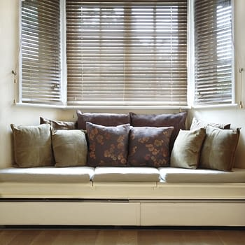 Bay window with seat