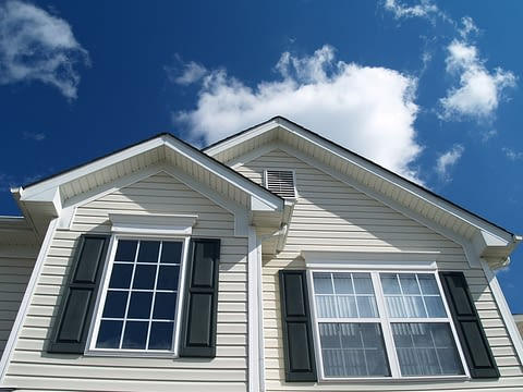 Home With Siding Accessories