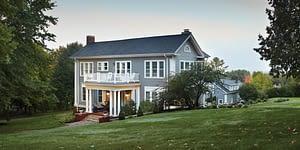House with LP Smartside with Diamond Kote siding