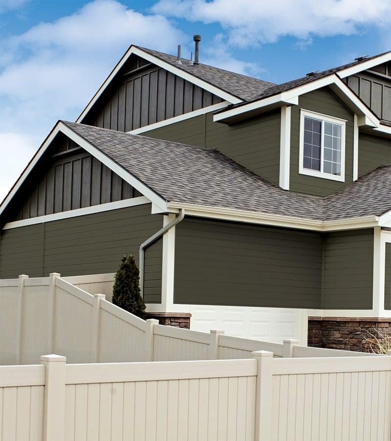 House with KWP engineered wood siding