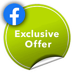 Exclusive Facebook Offer