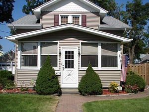 House with Cedar Impressions Vinyl Shakes by Certainteed