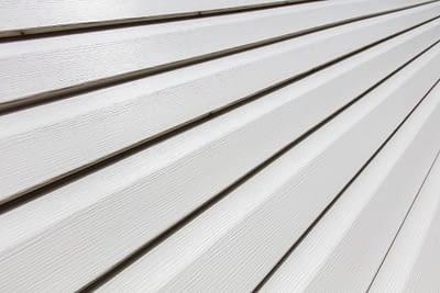 White Vinyl House Siding