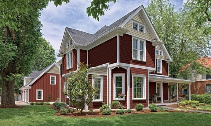 House with Heartland By ProVia siding