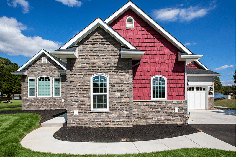 House with Certainteed vinyl siding