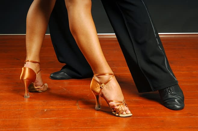 Couple Dancing Feet - Lawrenceville, NJ - Arthur Murray Dance Studio