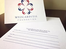 Myocarditis Foundation Tribute Cards
