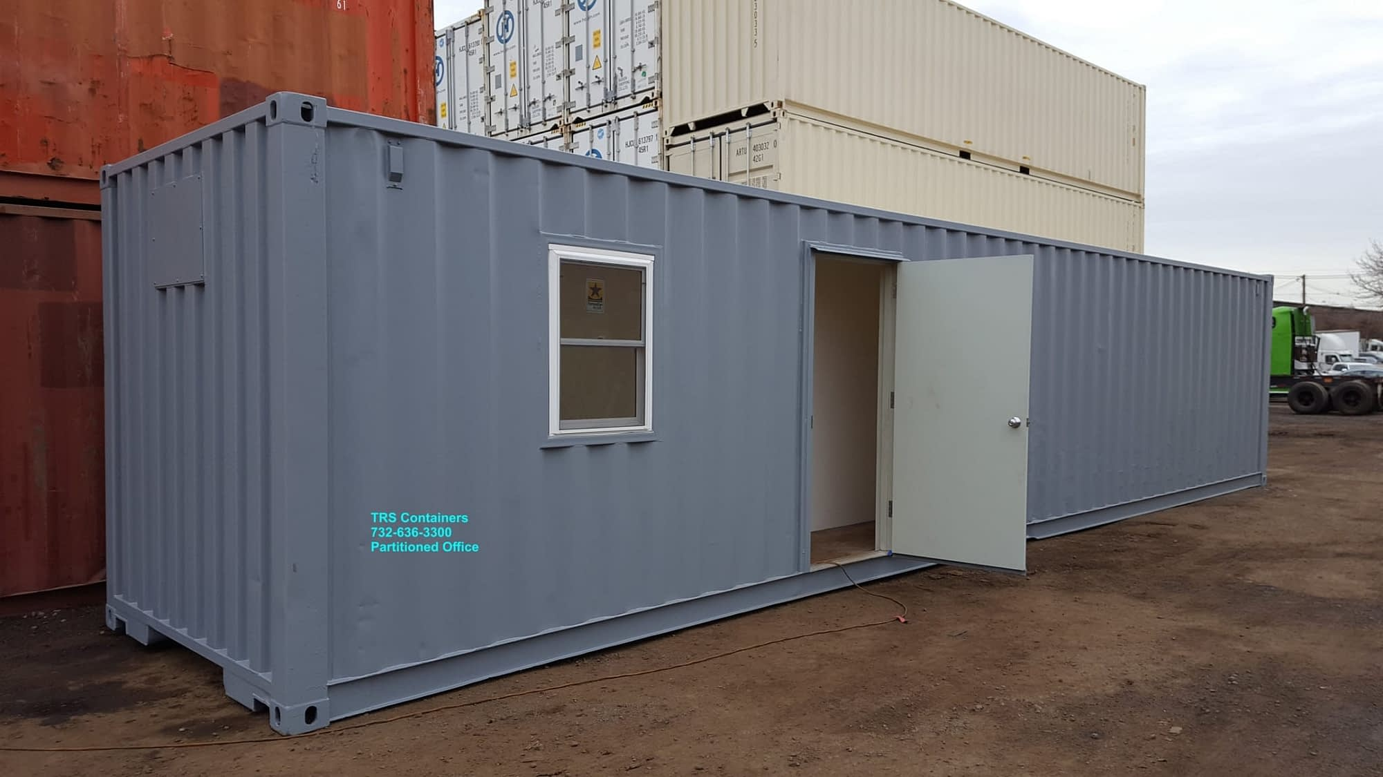 TRS Containers rents and sells modified ISO container space