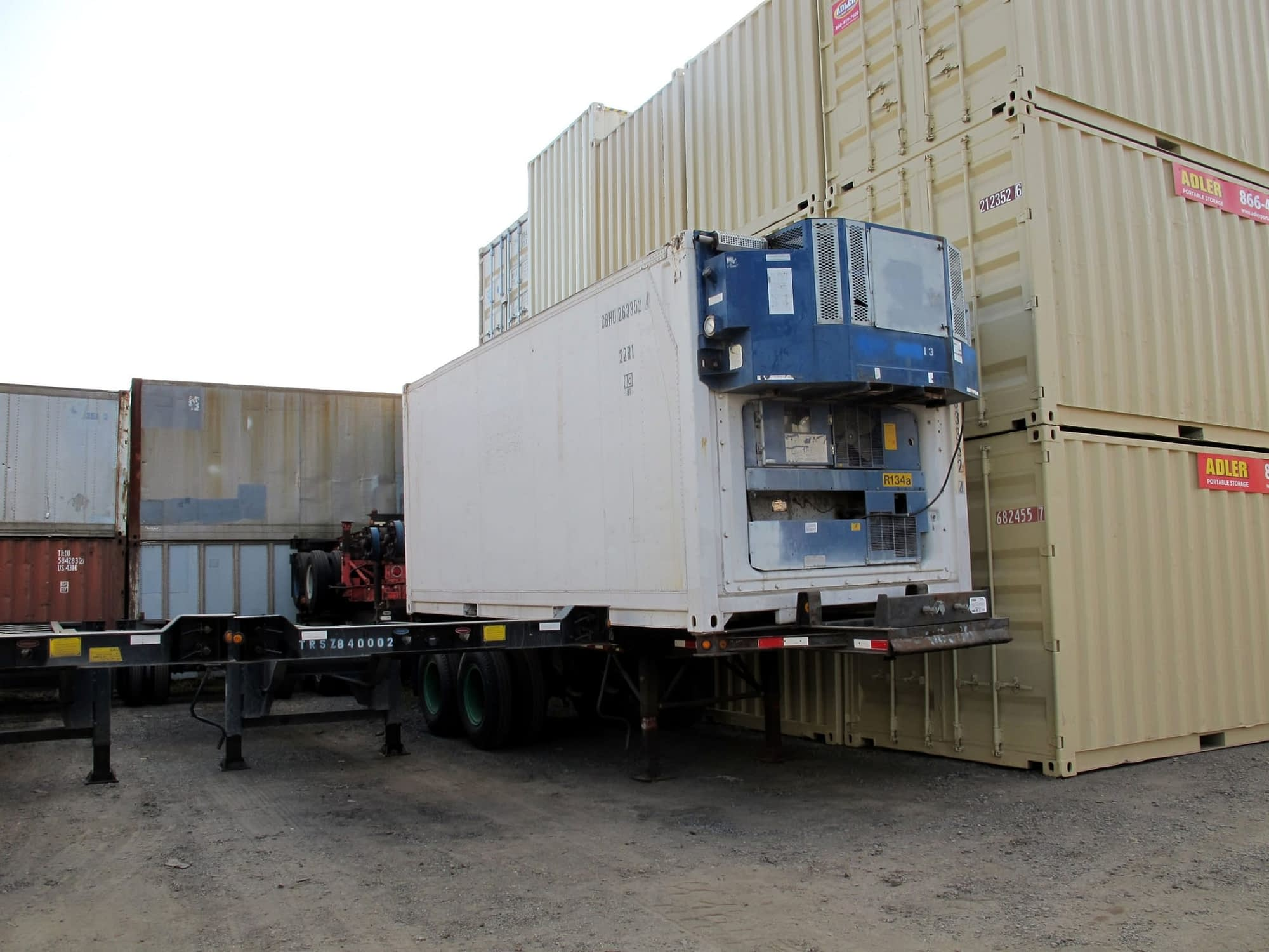 TRS sells and rents reefers and diesel gensets for export and domestic use