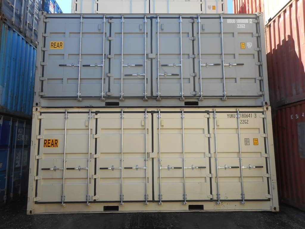 TRS Containers stock and sells new openside shipping containers