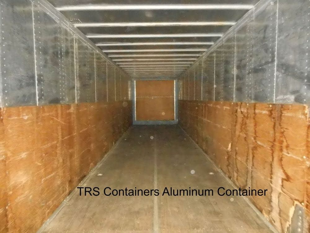 Secure Portable Aluminum Storage Containers