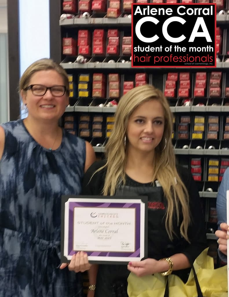 Arlene Corral May 2015 CCA Student of the Month