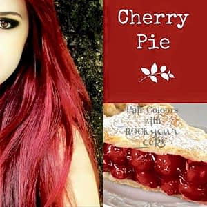 hair color inspired by cherry pie
