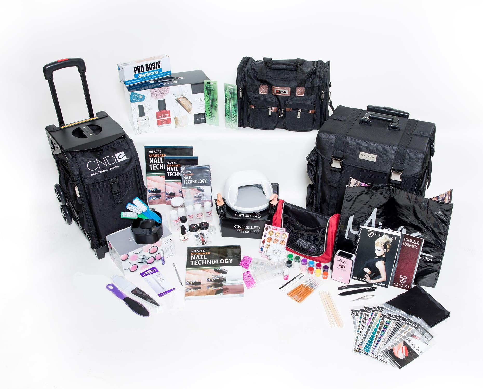 CND spa nail kit