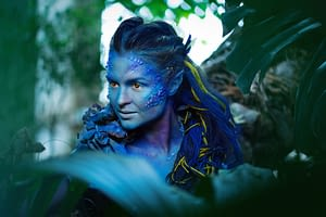 blue-special-effects-woman