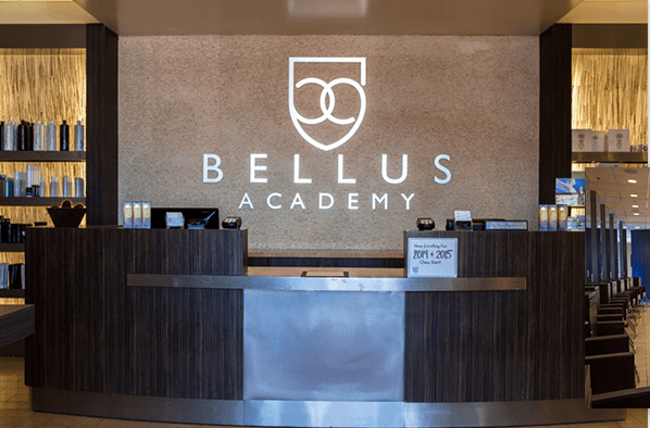The front of Bellus's Poway location.
