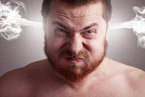 Studies show that anger outbursts can potentially lead to strokes.