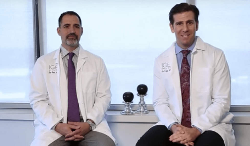 Dr. Adam Lipson and Dr. David Poulad