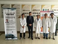 Dr. Lipson at Ruijin Hospital