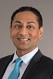 Headshot of Dr. Arun Rajaram at IGEA Brain & Spine