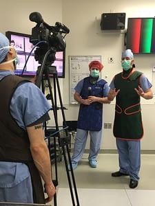 Dr. Lipson Live Nevro Surgery