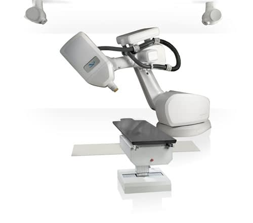 CyberKnife radiosurgery equipment