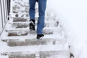 Icy Stairs - Jersey City, NJ - Krivitzky, Springer & Feldman
