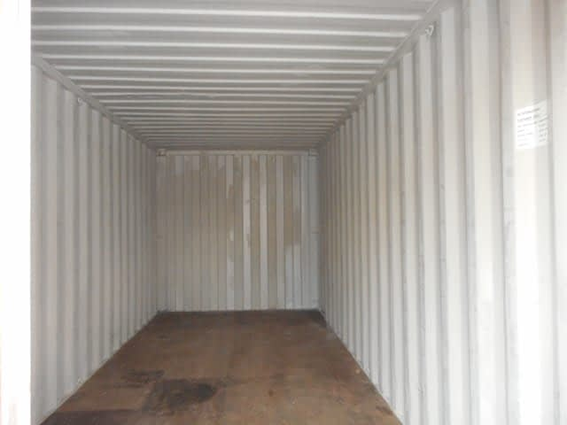 TRS Containers Grade A 20 foot long container interior