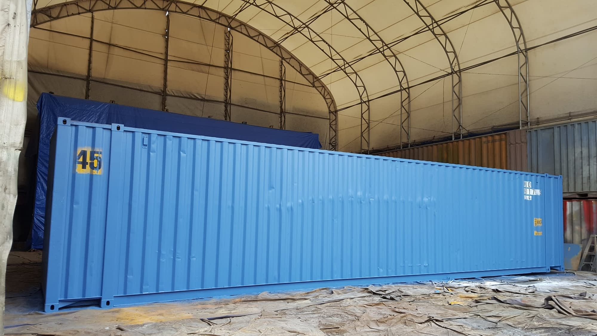 TRS Containers NJ stocks 10ft, 20ft, 40ft and 45ft long containers for shipping or export