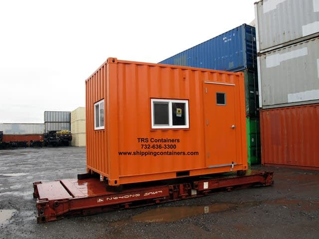 TRS constructs small container offices